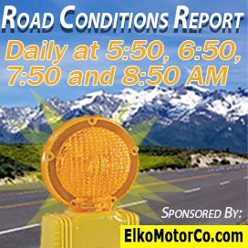 Ruby Radio's Road Report On 4x every morning