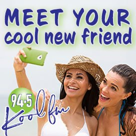 You have a new KOOL new friend in 94.5 KOOL FM